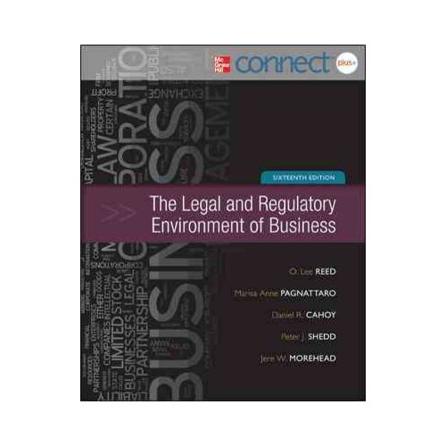 The Legal and Regulatory Environment of Business with Online Access Code
