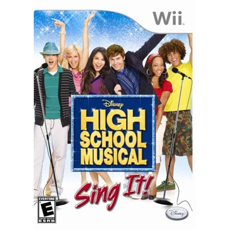High School Musical: Sing It with Microphone WII