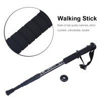 Aluminium Alloy Telescopic Lightweight Anti-Skid Walking Cane Stick Trekking Pole, Adjustable Cane, Walking Stick