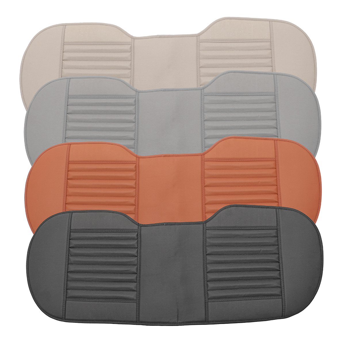 PU Leather Auto Car Vehicle Non-slip Long Rear Seat Chair Cover Protective Cushion Mat Pad, Breathable Car Interior Seat Cover