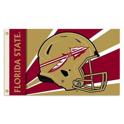 Florida State Seminoles Helmet Logo 3X5 Flag With Metal Grommets