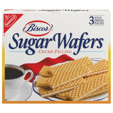 Biscos Creme Filled Sugar Wafers, 8.5 oz
