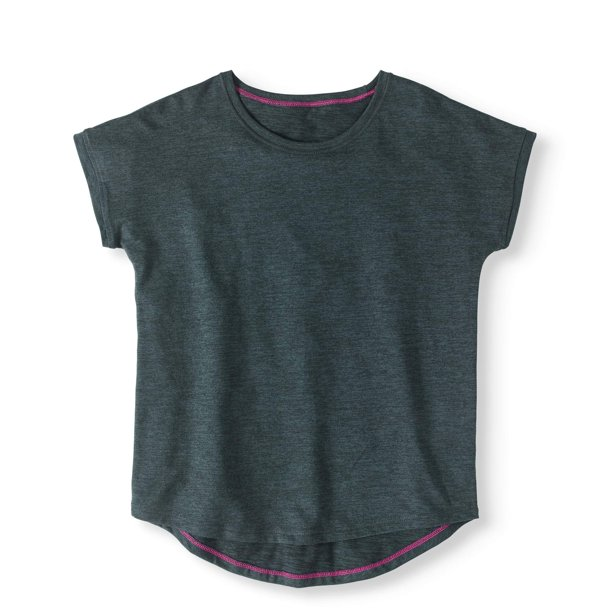 Girls' Performance Hi-Lo Active T-Shirt
