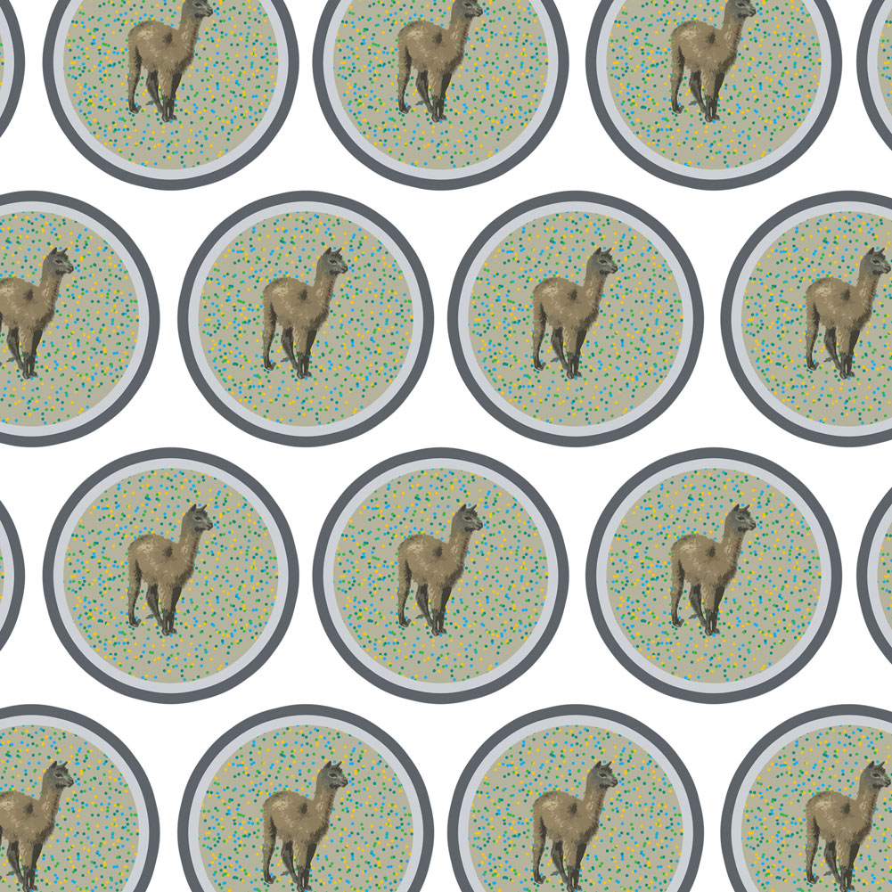 Llama Party Premium Gift Wrap Wrapping Paper Roll