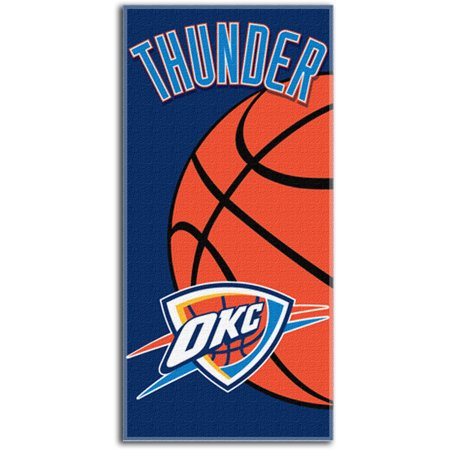 997f532fdbc Oklahoma City Thunder NBA 28x58 Fiber Reactive Cotton Beach Towel ...