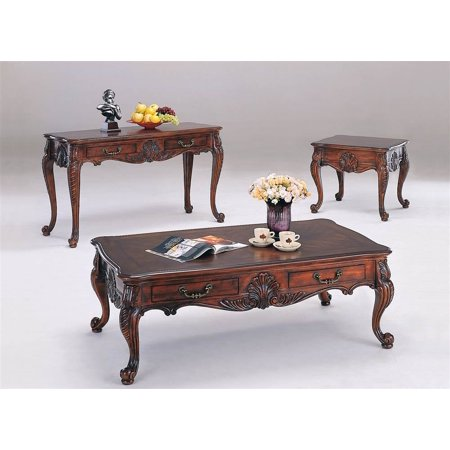 Sheldon 3 Pc Living Room Table Set