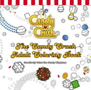 The Candy Crush Adult Coloring Book