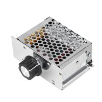EOTVIA Voltage Regulator 220V,Voltage Regulator,4000W AC Voltage Regulator 220V Dimmer Electric Motor Speed Temperature Controller