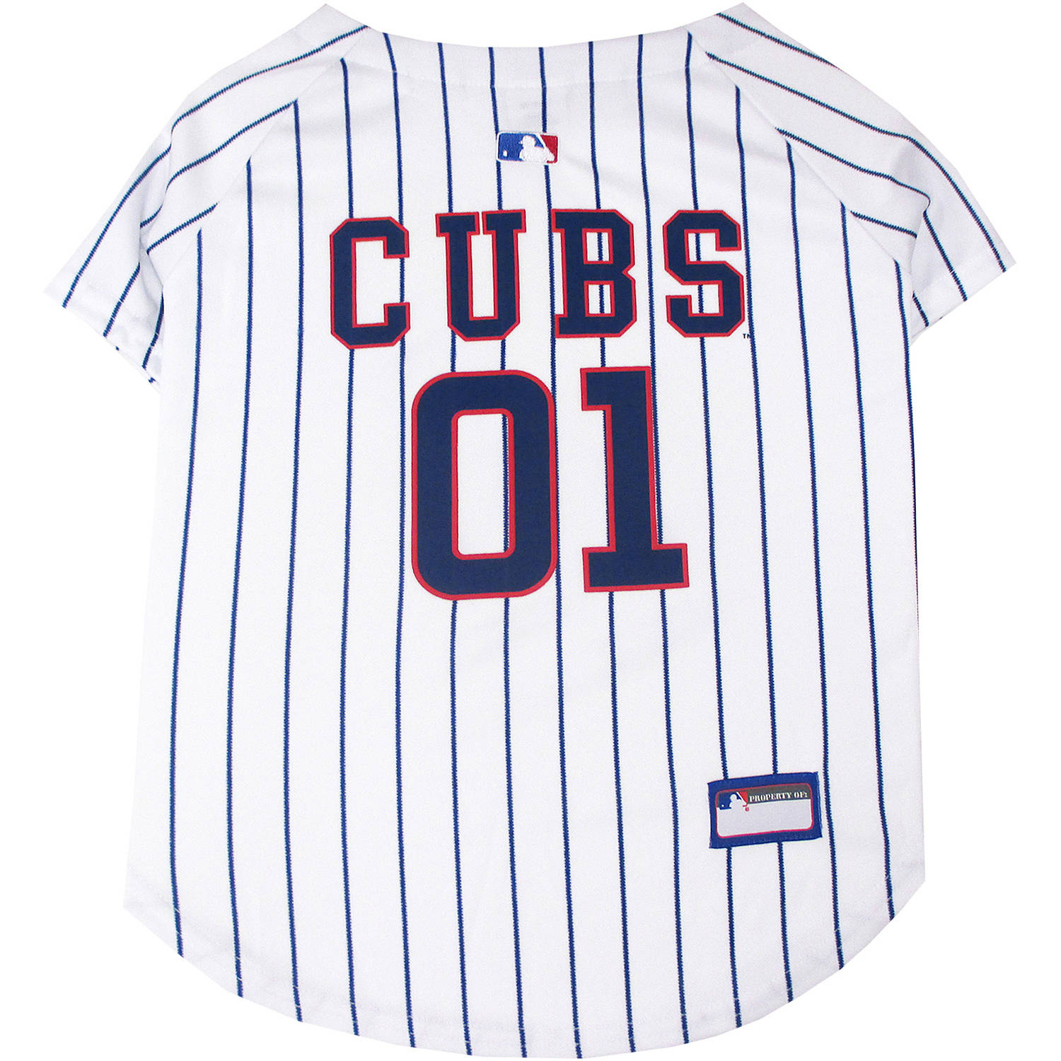 Pets First MLB Chicago Cubs Pet Jersey
