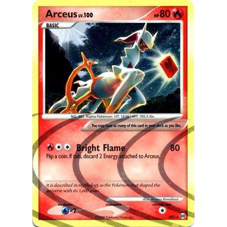 Pokemon Platinum Arceus Arceus [Fire] AR3