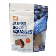 Dogswell Super Boost Squares Beef with Blueberry Dog Treats, 5 Oz