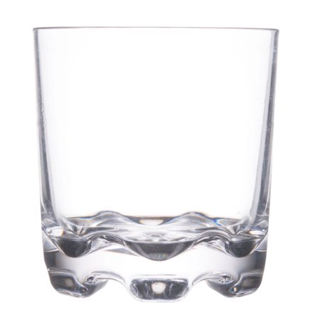 Stackable Rocks Glass - 10 Oz Stackable Rock Glass with Heavy Base/Set of 12