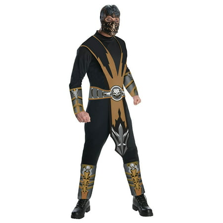 Drive Scorpion Jacket Halloween (Mortal Kombat Scorpion Adult Halloween)