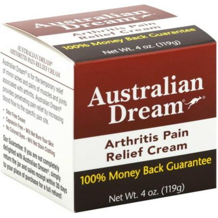 2 Pack - Australian Dream arthrite soulagement de la douleur crème, 4 oz