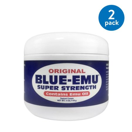 (2 Pack) Blue-Emu Original Topical Cream, - Emu Gel