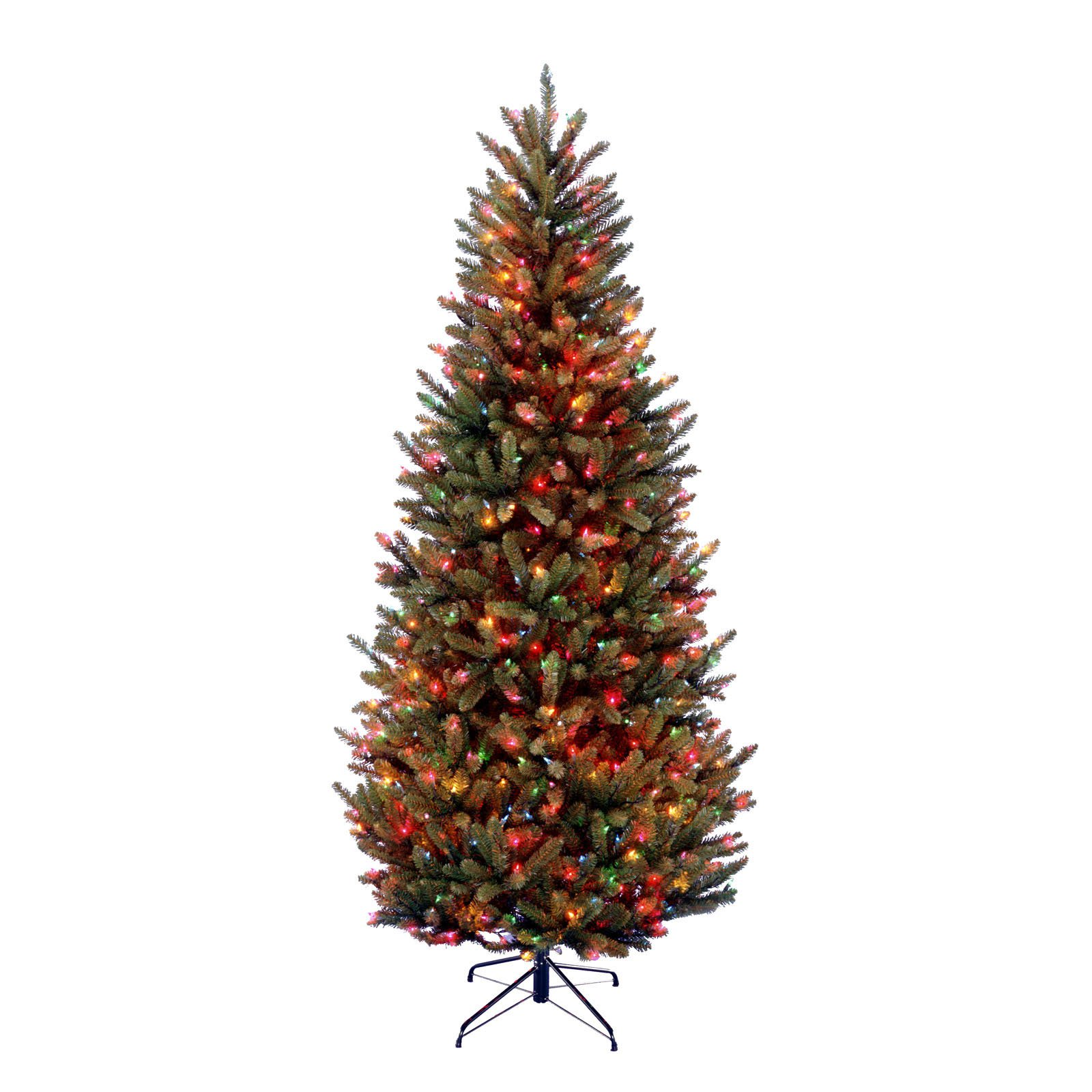 4.5 ft. Natural Fraser Slim Fir Tree with Clear Lights