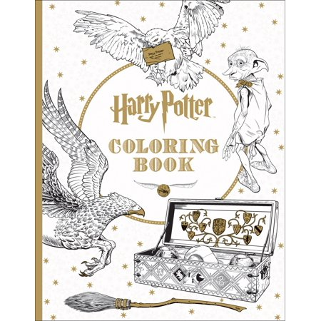 Harry Potter Coloring Book (Paperback) (Construction Coloring Pages)