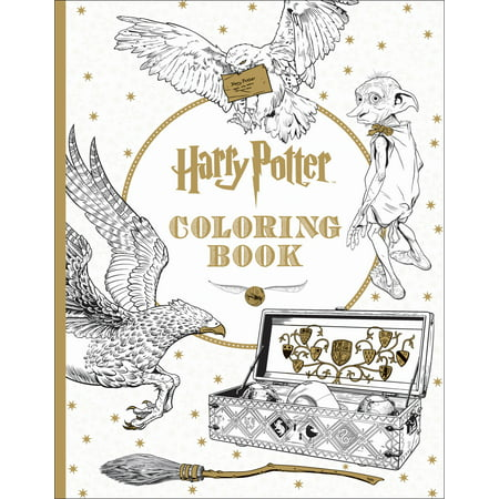 Harry Potter Coloring Book (Paperback)](Harry Potter Party Ideas)