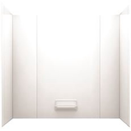 SWAN HIGH GLOSS TUB WALL KIT, 29 IN. X 62 IN. X 58 IN., WHITE ...