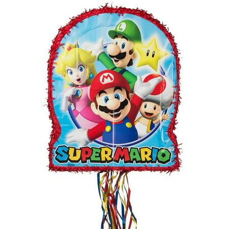 Mario Birthday Supplies (Super Mario Pinata)