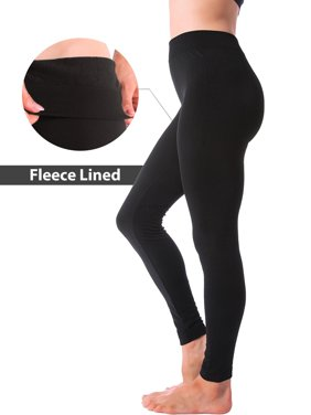 745284e52 Product Image Winter Warm Fleece Lined Thick Brushed Full Length Leggings  Thights Pants