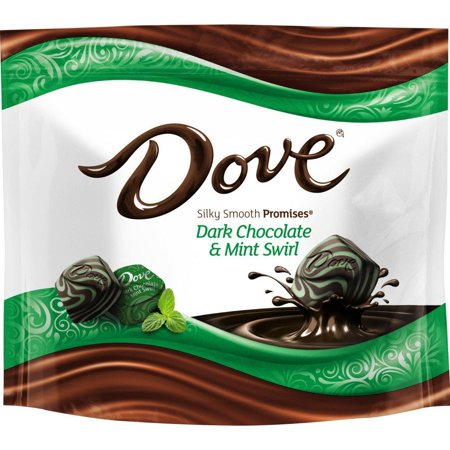 Dove Promises Dark Chocolate Mint Swirl Candy Bag, 7.61 Oz](The Office Halloween Dave)