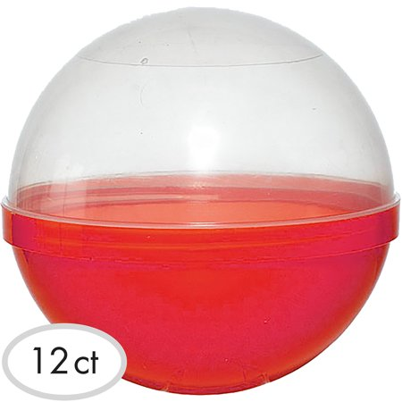Party City Ball Favor Container, Party Supplies, Plastic, 6