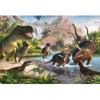 Dinosaurs Edible Icing Image cake Topper Frosting Sheet for 1/4 sheet