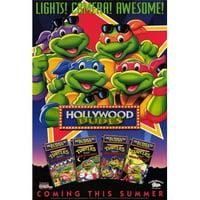 Posterazzi MOVCH7657 Teenage Mutant Ninja Turtles - Hollywood Dudes Movie Poster - 27 x 40 in.