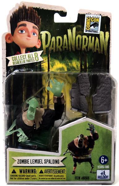 "ParaNorman Zombie Lemuel Spalding Exclusive 4"" Mini Figure by"