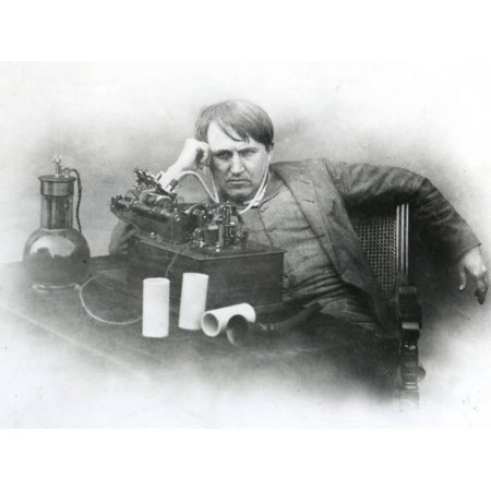 Edison, Phonograph Print Wall Art
