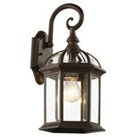 """Bel Air Lighting CB-4181-RT 16"""" Rustic Outdoor Lantern Fixtures"""