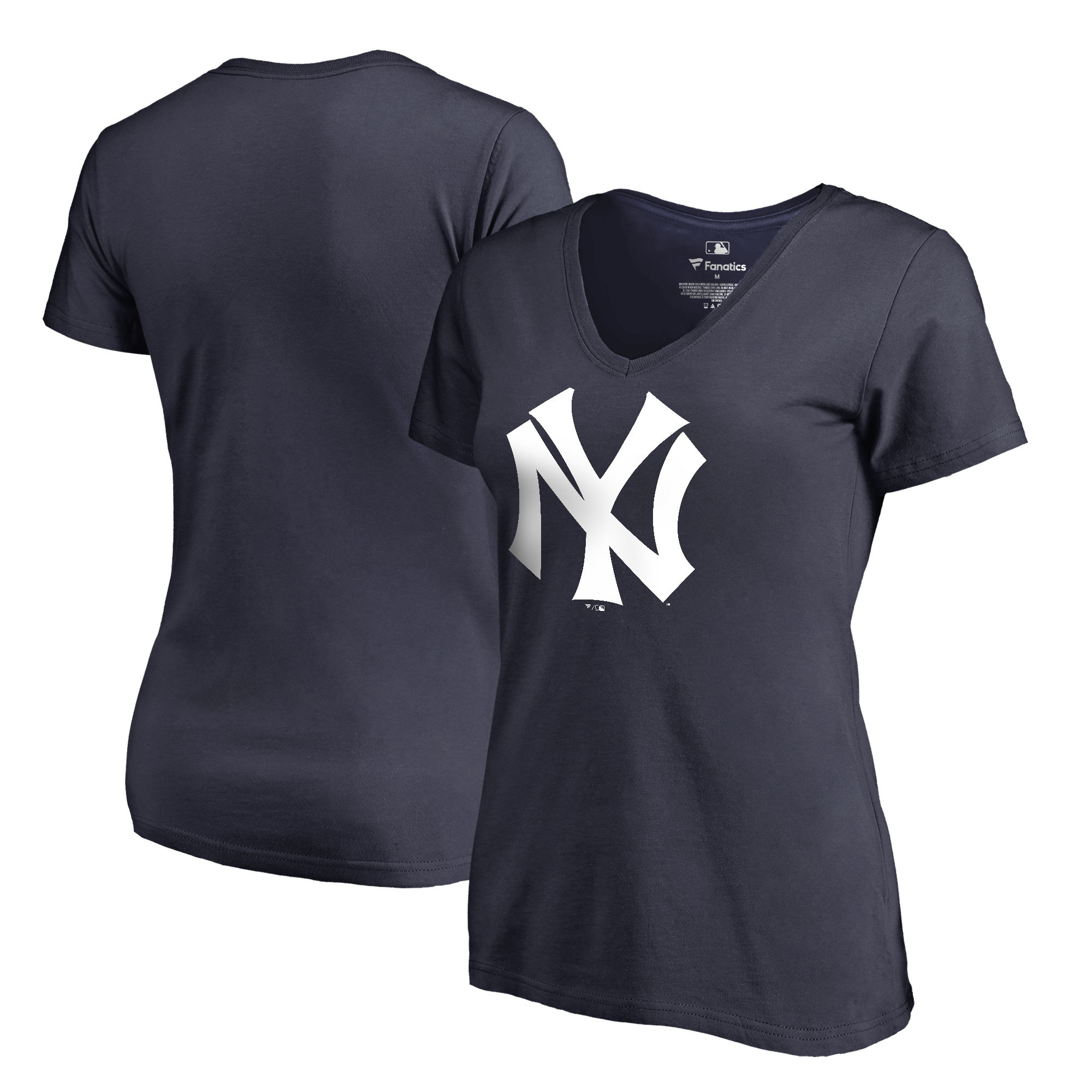 New York Yankees Fanatics Branded Women's Cooperstown Collection Huntington T-Shirt - Navy