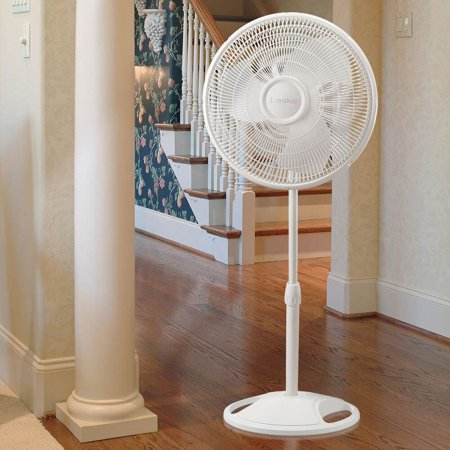 16 In. Oscillating Stand Fan - White - image 2 de 5