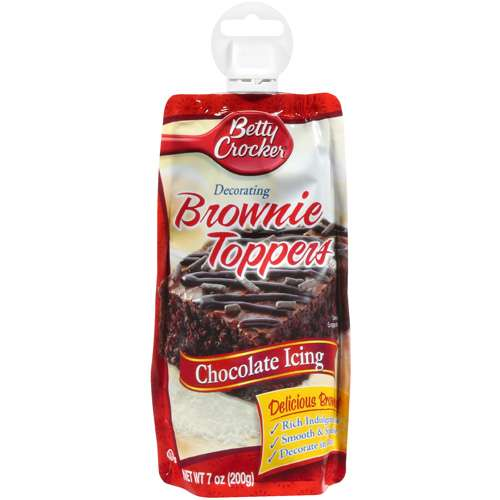 Betty Crocker Chocolate Decorating Brownie Toppers Icing, 7 oz