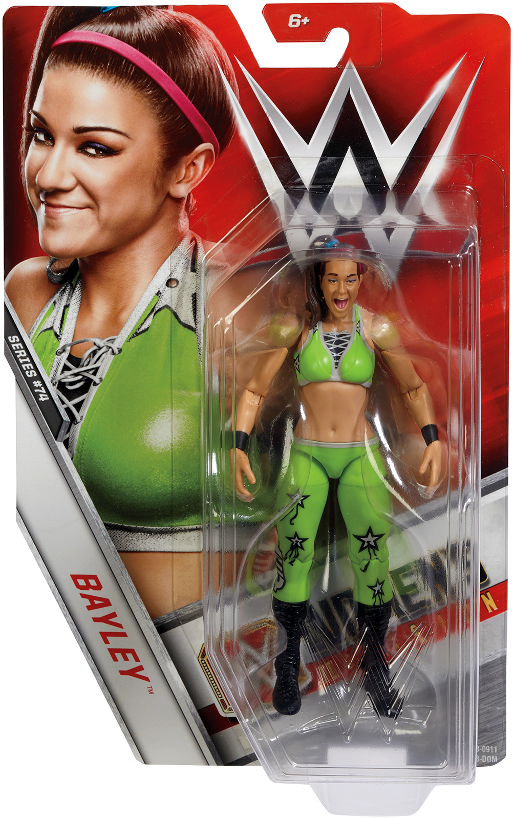 Bayley WWE Series 74 Toy Wrestling Action Figure by Mattel