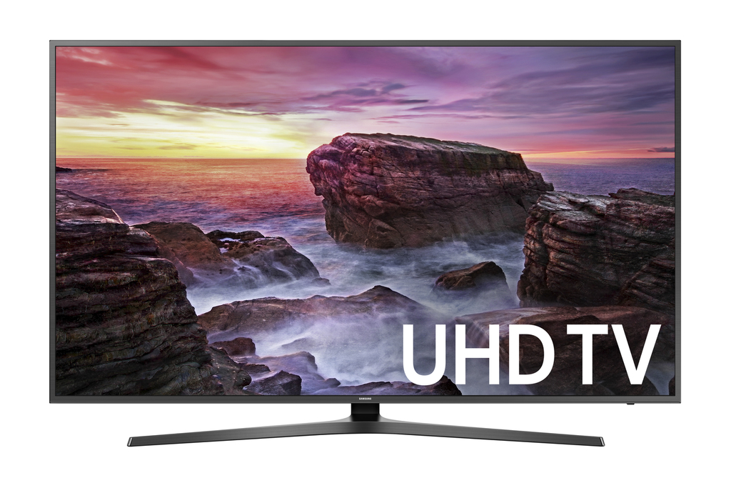 "Click here to buy SAMSUNG 50"" Class 4K (2160P) Ultra HD Smart LED TV (UN50MU6070) by Samsung."