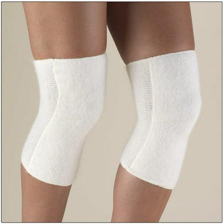 OTC Knee Warmer Angora Arthritis Relief, White,