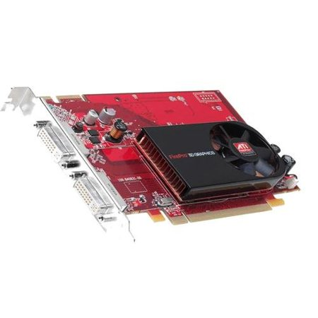 ATI 100 505551 GDDR3 PCI Express x16 Dual DVI Video Graphics Card Mfr P/N 100-505551