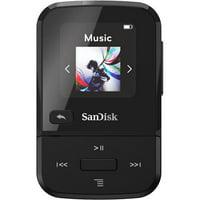 sandisk sansa clip+ 8gb mp3 player bluetooth