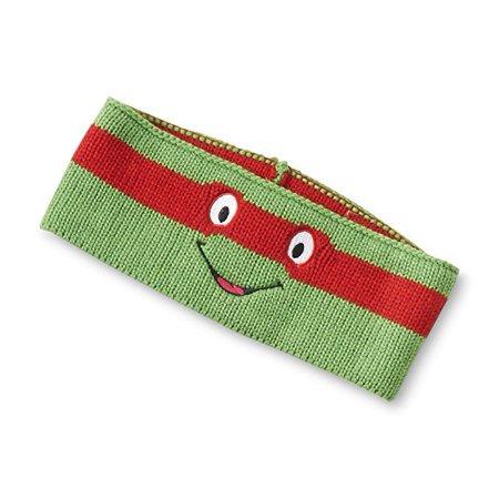 TMNT Boy's Knit Headband/Earmuffs (Raphael) (Ninja Headbands)