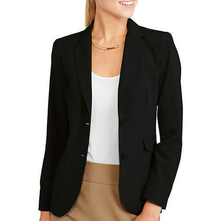 Utility Blazer - Women's Classic Career Suiting Blazer