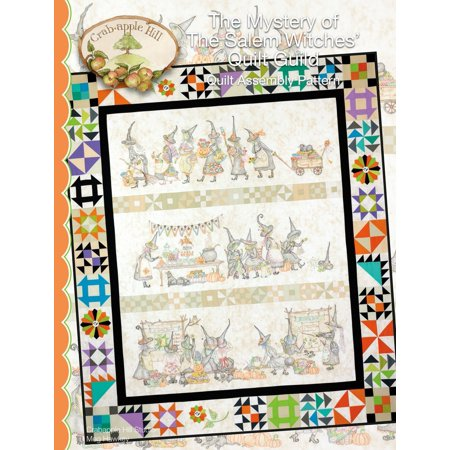 The Mystery of The Salem Witches' Quilt Guild, Pattern only By Crabapple Hill - Crabapple Hill Halloween Patterns