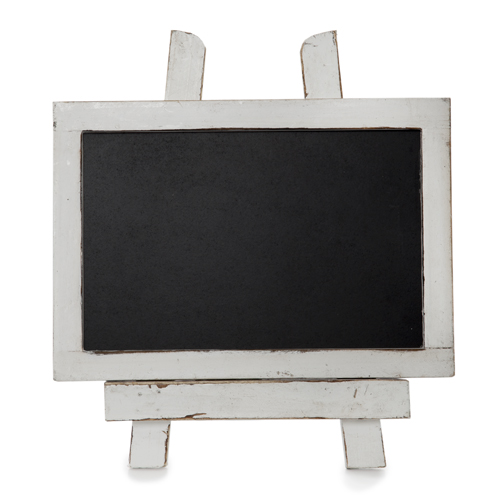 Wooden Chalkboard with Easel Small 5in by