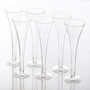 Abigails Optic Champagne Flute Set of 6 by Abigails