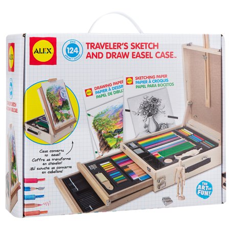 ALEX Toys Artist Studio Traveler's Sketch and Draw Easel