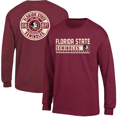Men's Russell Garnet Florida State Seminoles Back Hit Long Sleeve - Florida State Halloween Party