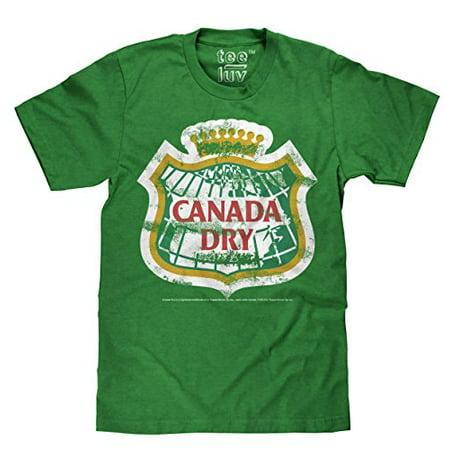 Canada Dry Distressed Logo  Small