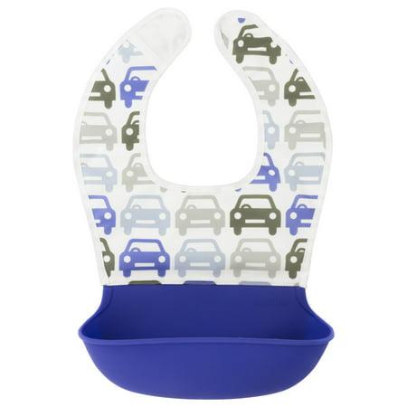 Kushies Silisoft Waterproof Bib with Silicone Pocket Bib (Kushies Baby Toys)
