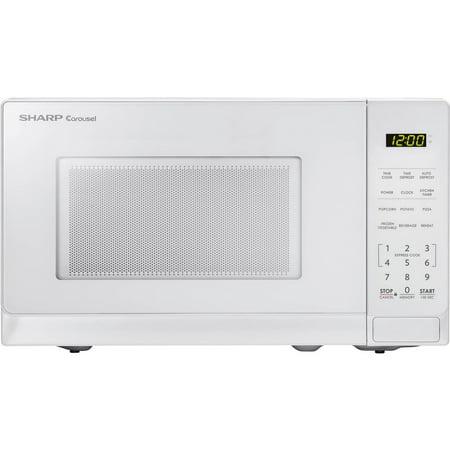 sharp 1 4 cu ft microwave. sharp zsmc0710bw .7 cu ft microwave, white 1 4 microwave